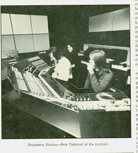 Studio Sound Article May 1975